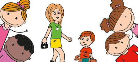 Spielerisch deutsch lernen mit Jugendrotkreuz